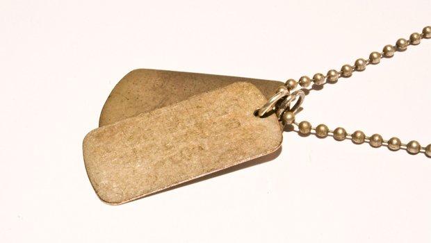 army style dog tag