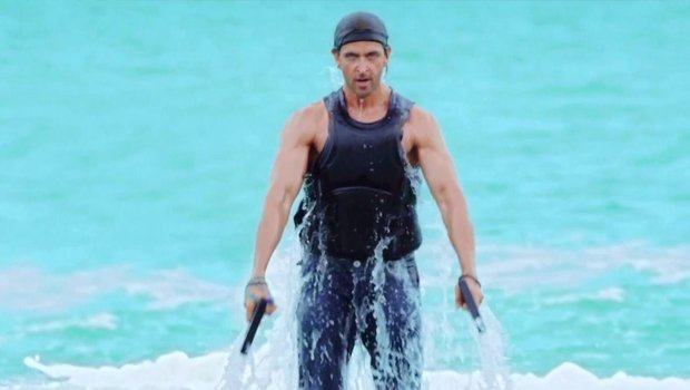 Flyboarding scene bang bang film review
